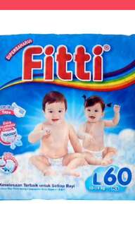 Fitti diapers L size