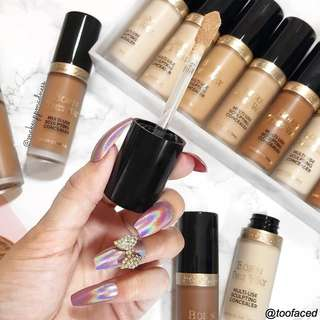 TOO FACED NEW BORN THIS WAY SUPER COVERAGE MULTI-USE SCULPTING CONCEALER