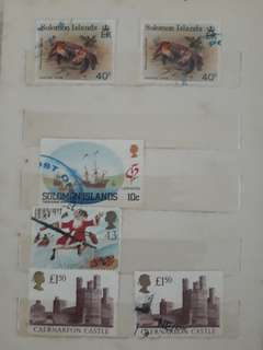 Stamps from United Kingdom, Solomon Island