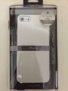 (包郵)日本製iPhone 7/8 Power Support Air Jacket 手機殻 全透明