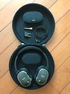 Philips SHN9500 - Noise Canceling Headband Headphones (實拍 九成新)https://www.philips.com.hk/c-p/SHN9500_01/-