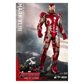 Hot Toys MMS278D09 Age Of Ultron MarkXLIII Iron man Mark 43