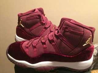 Nike Jordan 11 Velvet night maroon 40-44