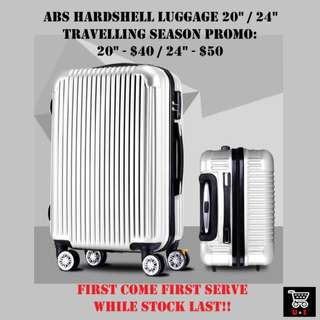🚚 Luggage *ABS* *20 inch* *24 inch* *PROMO* *Unbelievable $40 onward*