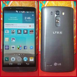 LG G3 Black 32gb 3gb Ram 4G LTE  F400 Openline