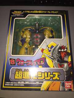 Digimon Adventure 1999: No.6 Digivolving Agumon to Wargreymon