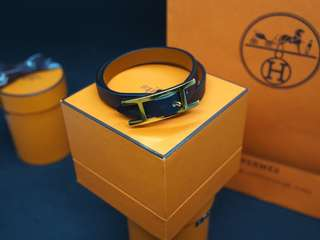 Hermes Behapi Bi-color Bracelet T1