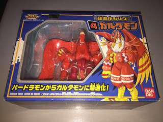 Digimon Adventure 1999: No.4 Digivolving Birdramon to Garudamon