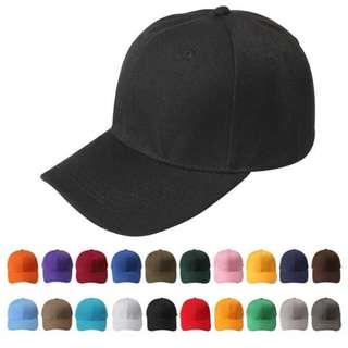 unisex caps fashion trend 15 colors