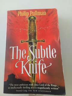 The subtle knife by Phillip Pullman