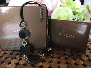 Gucci Necklace with Real Leather 真皮頸鏈