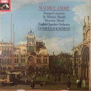 Maurice Andre plays Trumpet Concertos EMI ASD 3394
