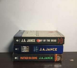 J.A Jance Novels (Set)