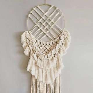Macrame Wall Art Hanging / Rope Art / knot Art / Fiber Art Tapestry