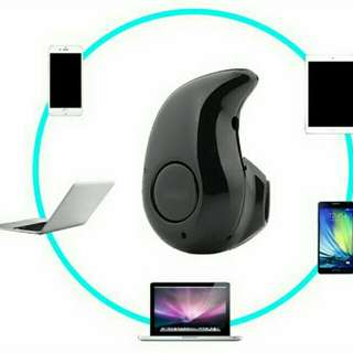 Mini Wireless Earphone for Smart devices (with microphone)