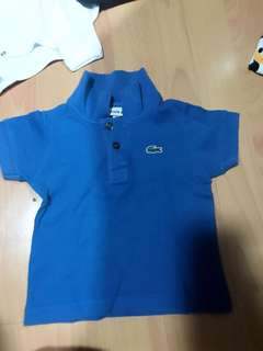 Authentic Baby Lacoste Shirt for  6 - 18 months old