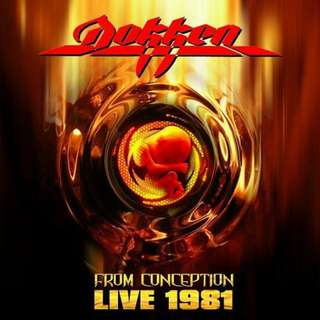 Dokken – From Conception Live 1981 CD