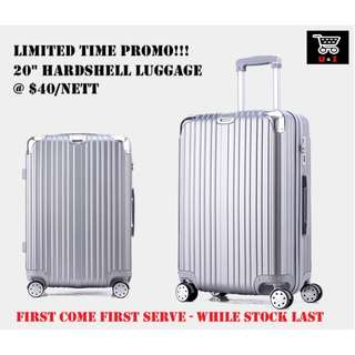 "🚚 Luggage *ABS* *20"" inch* *PROMO* *Unbelievable $40nett*"
