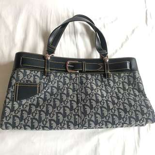 80k Christian Dior Denim Classy Bag good as brand new no flaws with authenticity code