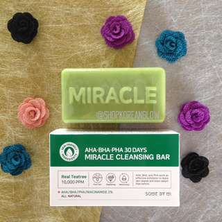 Somebymi Miracle Cleansing Bar