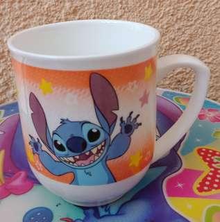 Stitch Orange Mug Cup
