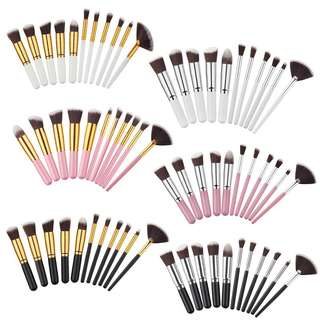 #02 11 piece Makeup Brush Set