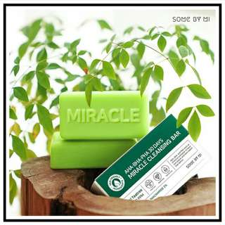 Some By Mi AHA.BHA.PHA.30 Days Miracle CLEANSING BAR