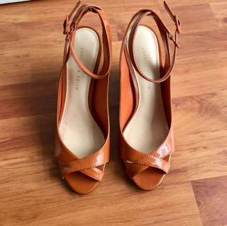Charles & Keith Wedges Brand New