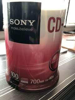 CD-R sony - 100 pcs