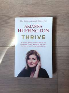 Thrive; Arianna Huffington