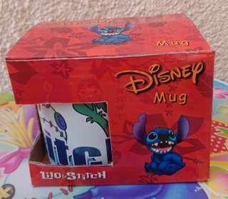 Stitch Scrump Mug Cup w/ box