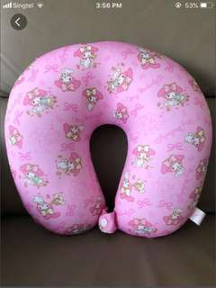 Sanrio MELODY Neck Pillow