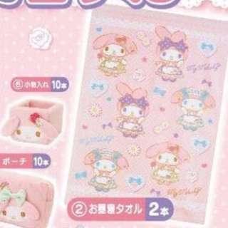 只有一張*Sanrio My Melody 一番賞2奬毛毯