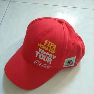 FIFA World Cup 2010 South Africa Coca Cola Cap