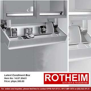 Rotheim Latent Condiment Box