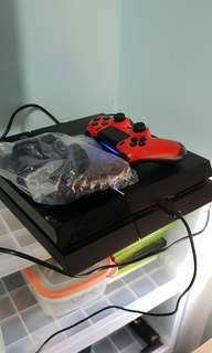 PS4 with 2 controllers(Negotiable)