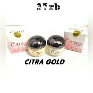 Cream Siang Malam Citra Gold Original Hologram 100%