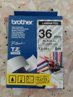 Brother Laminated TZ-161 (36mm)