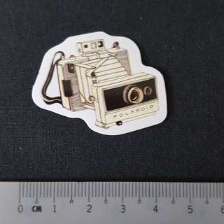 C11 Vintage Camera Polaroid Watercolour Sticker Stickers
