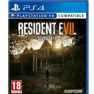 Resident Evil 7 Ps4 (West Area)