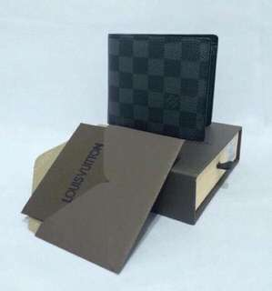 Authentic Overruns LV Wallet