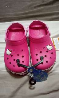 Brand New Authentic Hello Kitty Crocs