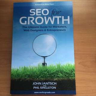 (Soft Cover) SEO For Growth