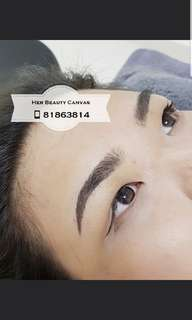 Combination Embroidery - 6D Microblading &Misty Embroidery