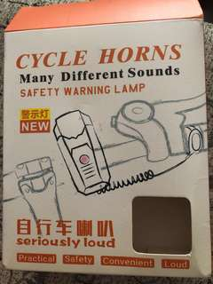 Bicycle horn