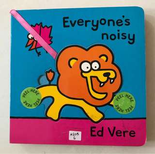 Everyone's noisy board book