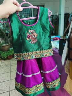 Cute Traditional Wear for 1-2 years old