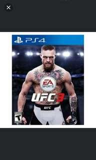 PS4 UFC 3 (R3)