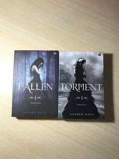 Fallen dan Torment karya Lauren Kate