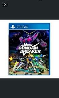 PS4 New Gundam Breaker (R3)